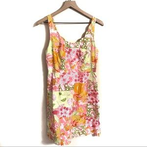 Lilly Pulitzer Patchwork Picnic Dress Size 6